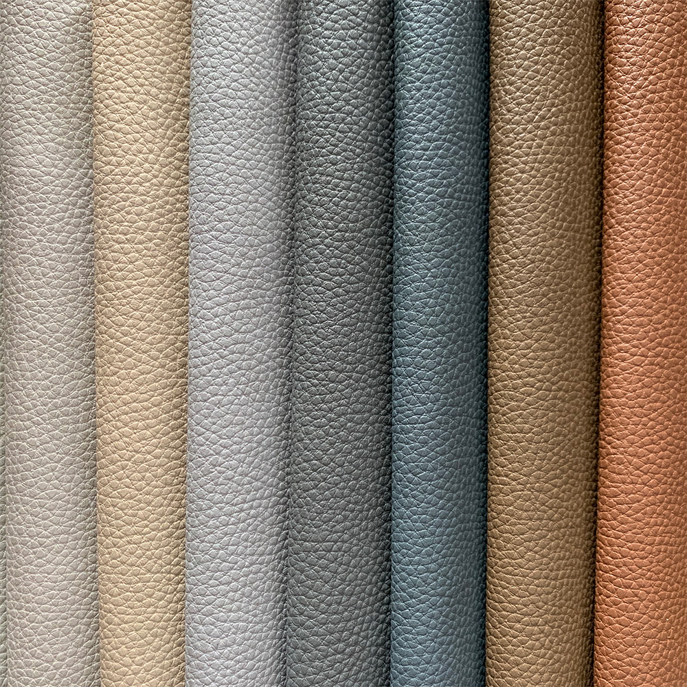 waterborne pu leather for sofa_green leather_vegan leather