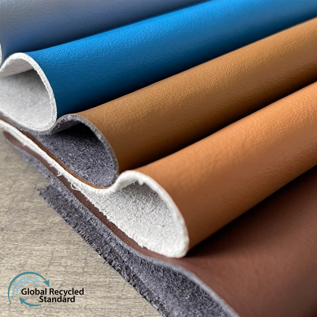 GRS recycled leather